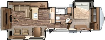 5th Wheels With 2 Bedrooms by 2016 Mesa Ridge Fifth Wheels By Highland Ridge Rv