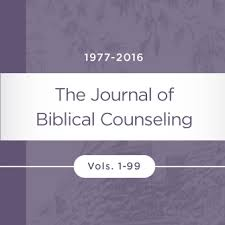 Journal Of Biblical Counseling 99 Issues