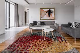 arte espina design teppich modern wohnzimmer 3d look grau