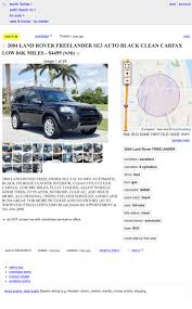 At $4,499, Could This 2004 Land Rover Freelander SE3 Set You Free? Daughters Find Dad A Kidney On Craigslist Nbc 6 South Florida Georgia Trucks And Cars Org Carsjpcom Marie Carline Leblanc Google Classic For Sale Luxury A Possible Amazoncom Heavy Duty Commercial Truck Tires Miami Vice The Car How To Avoid Curbstoning While Buying Used Scams All Los Angeles Ca 77 Honda Civic Second My Style Pinterest Civic