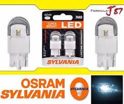 sylvania zevo led light bulb 7440 white 6000k turn signal