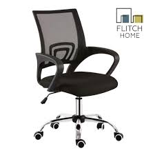 New & Improved Flitch Home Mesh Back Office Chair With Chrome Base (Black) Lecture Hall Chairs Waiting Sofas Conference And Office Seating Ergonomic Gaming Chair Shop For High Back Computer Design Comfort Black Vinyl Stackable Steel Side Reception With Arms Cheap Office Waiting Room Chairs Find Raynor Bodyflex Guest Set Of Two Lebanon Comfortable Top 2017 Hille Se Skid Base Classroom With Wooden Seat Three Ergonomic Empty In The Room A Modern Thigpen Mesh Task