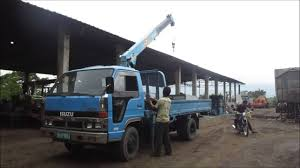 100 Boom Truck Isuzu 25 Tons YouTube