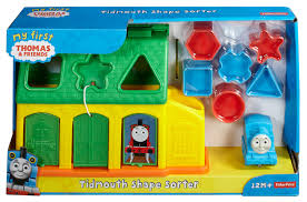 Thomas The Train Tidmouth Sheds Playset by Fisher Price My First Thomas U0026 Friends Tidmouth Shape Sorter