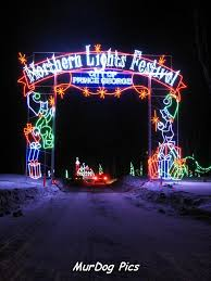 Northern Lights Festival gate Connaught hill Prince George BC