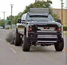there is no reason for this ford truck 2 14 led bars on its