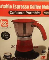 Image Is Loading Electric Cuban Coffee Maker Espresso 1 6 Cups