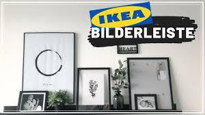 bilderleisten dekorieren gallery wall tipps tricks ikea mosslanda