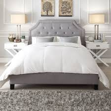 Ana White Upholstered Headboard by A Beautiful Arched Bridge Top Brings Elegance And Class To The
