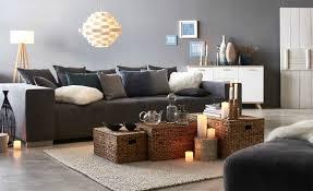 lila grau wandfarbe wandgestaltung wohnzimmer dekor