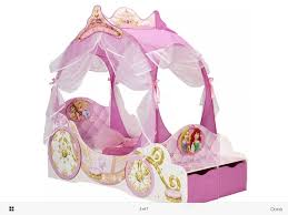 Minnie Mouse Canopy Toddler Bed by Disney Princess Carriage Light Up Canopy Toddler Bed Great