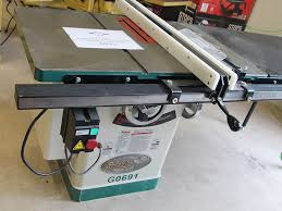 Used Grizzly Cabinet Saw by Pre Owned Equipment Hardwoods In The Rough