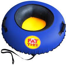 Fattiresnowtube Fat Tire Snow Tube - Red