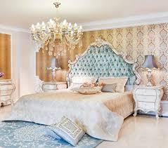 casa padrino luxus barock schlafzimmer set grün creme gold