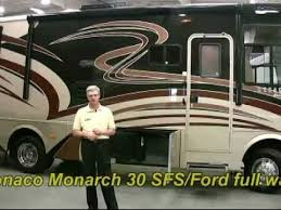 SOLD 2011 Monaco Monarch 30 Ft Full Wall Slide Class A Gas Motorhome