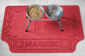 Personalized Scroll Waterproof Dog Mat
