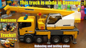Toy Channel - Toy Cars & Trucks: Bruder Construction Crane Truck ... Toy Crane Truck Stock Image Image Of Machine Crane Hauling 4570613 Bruder Man 02754 Mechaniai Slai Automobiliai Xcmg Famous Qay160 160 Ton All Terrain Mobile For Sale Cstruction Eeering Toy 11street Malaysia Dickie Toys Team Walmartcom Scania R Series Liebherr 03570 Jadrem Reviews For Wader Polesie Plastic By 5995 Children Model Car Pull Back Vehicles Siku Hydraulic 1326 Alloy Diecast Truck 150 Mulfunction Hoist Mini Scale Btat Takeapart With Battypowered Drill Amazonco The Best Of 2018