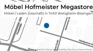 möbel hofmeister megastore kirchheimer straße in bietigheim