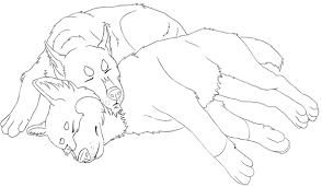Husky Coloring Pages Free Printable For Kids