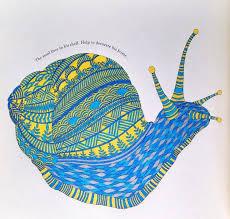 Coloring Ideas Snail Like