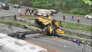 Paramus School Bus Accident: Truck In Another Crash 2 Years Ago Union Firefighters Extricate Driver From Rt 78 Truck Accident 11815 Nj Turnpike I95 Crash Black Ice Trailer Flip Youtube Chesterfield Animation 3 People Killed In Involving Ctortrailer On I280 East Garbage Truck Crashed Into A Wooded Area Of Goffle Brook Park In Man Dies With New Jersey Police Nbc Crashes After Losing Brakes On Hill Hawthorne 1 Dead Overturned Flyengulfed Dump Shuts Down Two 43 Injured School Bus Torn Apart Crash Tractor Trailer Overturns Route 55 Harrison Twp Gloucester 322 Reopens Headon Logan 6abccom