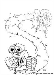 Wall E Online Coloring Pages Printable Book For Kids 53