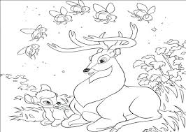 Full Image For Free Printable Deer Coloring Pages Beautiful Flowers