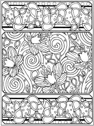 Flowers Creative Haven Art Deco Designs Coloring Book Dover Publications
