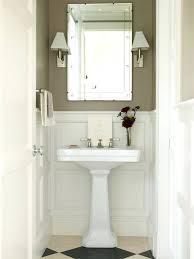 Half Bath Decorating Ideas Pictures by Half Bath With Pedestal Sinkstorage For Sink Pictures Of Baths