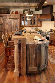 meuble de cuisine bois massif la cuisine en bois massif en beaucoup de photos chalet interior