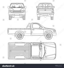 100 How To Draw A Truck Step By Step Huge Collection Of Pickup Truck Outline Drawing Download More