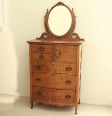 Tiger Oak Dresser With Swivel Mirror by Victorian Oak Dresser With Mirror Oberharz