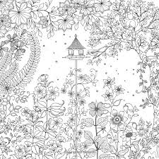 Secret Garden An Inky Treasure Hunt And Coloring Book Johanna Basford