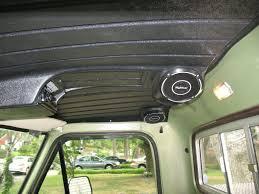 100 Truck Headliner With Built In Speakers The 1947 Present Chevrolet