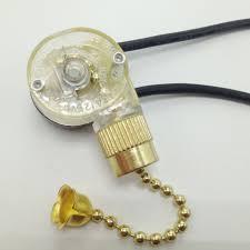 zipper switch wall light switch ceiling fan switch 2 wire single