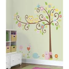 frise chambre bebe stickers muraux arbre frisã dã co chambre enfant frise bébé leroy