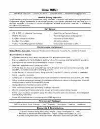 Medical Billing And Coding Resume Free Downloads 28 New Samples Templates