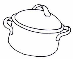 coloriage cuisine coloriage cocotte ou marmite