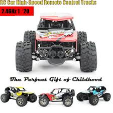 100 Remote Control Trucks For Kids 120 RC Car HighSpeed Off Road 24GHz 120 RC