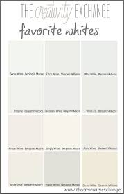 Popular Living Room Colors Benjamin Moore by Best 25 White Paint Colors Ideas On Pinterest White Paint Color