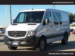 Location Houston TX Mercedes Benz Sprinter 2500 144 WB Crew In Used 2016