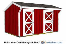 10x15 Storage Shed Plans by 10x16 Shed Plans Diy Shed Designs Backyard Lean To U0026 Gambrel
