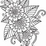 Coloring Flowers Best 25 Flower Pages Ideas On Pinterest