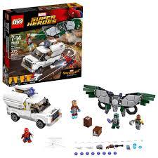 100 Modern Marvels Truck Stops LEGO Super Heroes Beware The Vulture 76083 375 Pieces Walmartcom