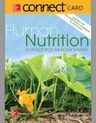 Connect Access Card For Human Nutrition Science Healthy Living Updated With 2015 2020 Dietary Guidelines Americans
