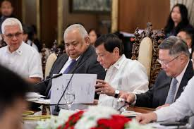 Cabinet Agencies Of The Philippines by Duterte Approves P3 8t Proposed 2018 National Budget
