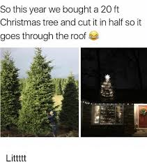 Christmas Memes And Tree So This Year We Bought A 20 Ft
