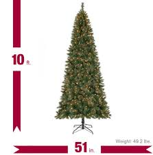 Ge 75 Artificial Christmas Tree by Home Accents Holiday 7 5 Ft Pre Lit Wesley Spruce Artificial