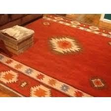 Red Wine On Wool Carpet by Nuloom Hand Tufted Southwestern Wool Wine Rug 7 U0027 6 X 9 U0027 6 Free