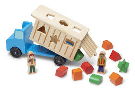 Amazon.com: Melissa & Doug Shape-Sorting Wooden Dump Truck Toy With ... Timber Truck Trailer Toy Wooden Toys For Children Happy Go Ducky Handmade Play Pal Pickup Magnolia Chip Joanna Gaines Trucks For Or Gifts Truck Side View Isolated On White Background Stock Photo Trucks Thomas Woodcrafts Boy Open Top Box Hauler By Myfathershandsllc Wood Alpine Planterbar254l The Home Depot Set European Wood Farm Ecofriendly Car Kids Organic Crane Cars Youtube